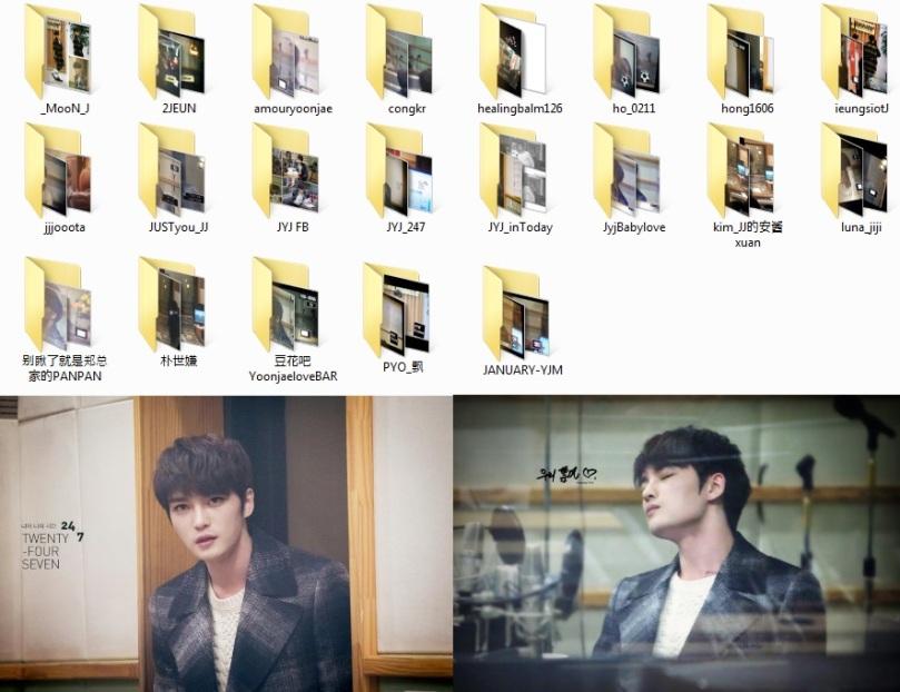 150108 Jaejoong at Yoo In Na's Volume Up